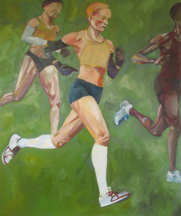 If I could be a Runner 100 * 120 cm