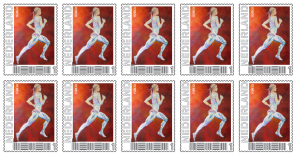 10 stamps valid in the netherlands